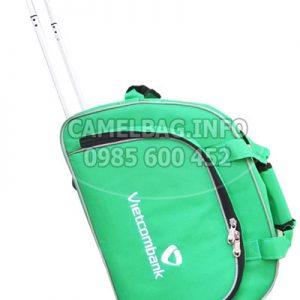 Sản xuất túi kéo du lịch Vietcombank