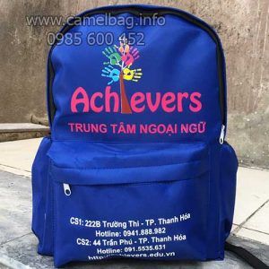 Sản xuất balo anh ngữ Achievers