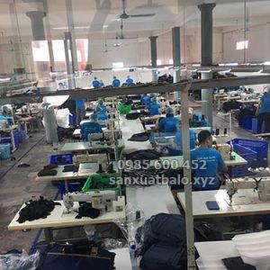 Nhà máy sản xuất balo túi xách xuất khẩu tại Bắc Ninh