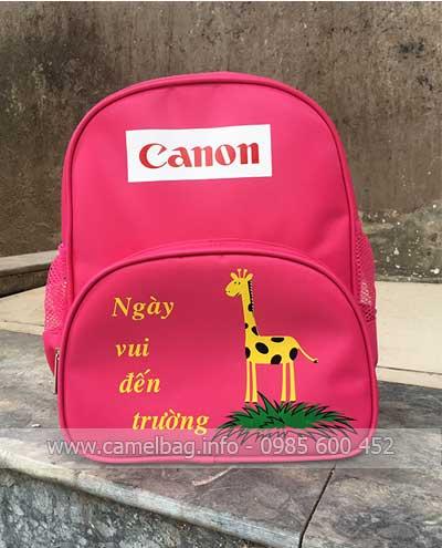 Sản xuất balo quà tặng Canon
