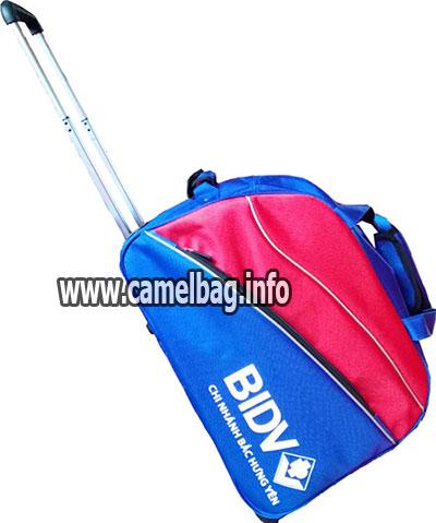 Túi du lịch kéo ngân hàng BIDV