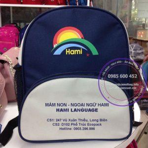 Sản xuất balo mầm non Hami